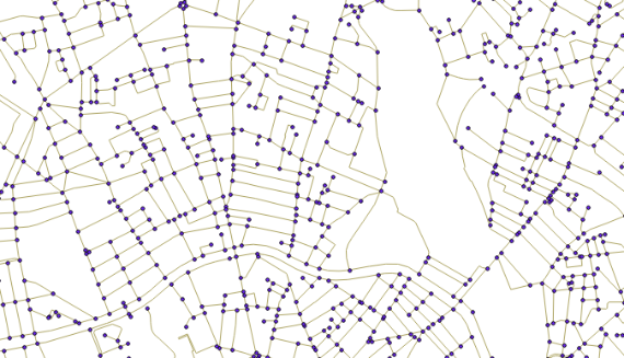 Use PostGIS topologies to clean-up road networks